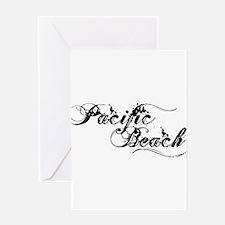 Pacific Beach Greeting Card