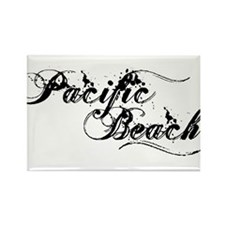 Pacific Beach Rectangle Magnet
