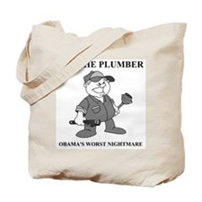 JOE THE PLUMBER NIGHTMARE Tote Bag