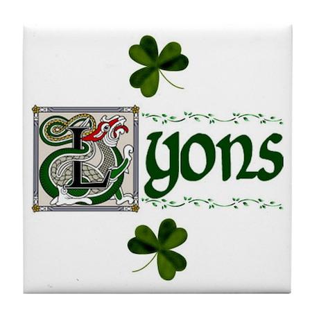 Lyons Celtic Dragon Ceramic Tile