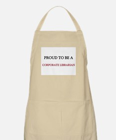 Proud to be a Corporate Librarian BBQ Apron