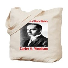 Carter G. Woodson Tote Bag