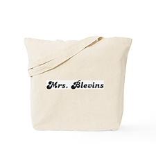 Mrs. Blevins Tote Bag