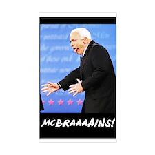 McBraaaains! Rectangle Decal