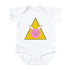 Caution Sleepy Bunny Infant Bodysuit