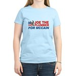 Joe the Plumber for McCain Women's Light T-Shirt