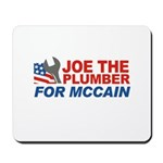 Joe the Plumber for McCain Mousepad
