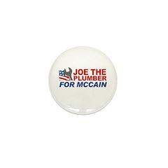 Joe the Plumber for McCain Mini Button (100 pack)