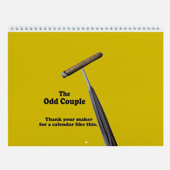 Odd Couple - Wall Calendar