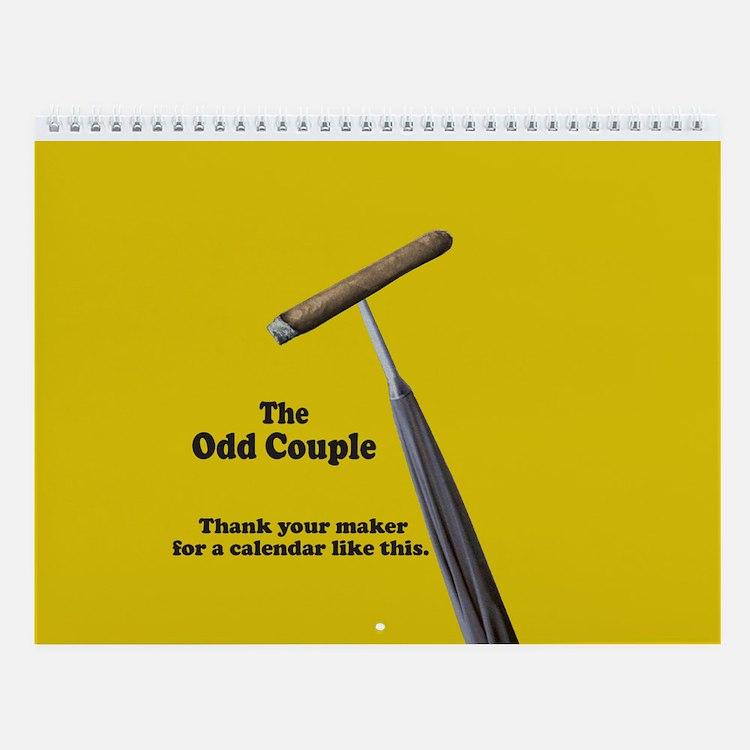 Odd Couple - Wall Calendar
