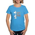 Flush Obama Women's Dark T-Shirt