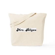 Mrs. Bilyeu Tote Bag