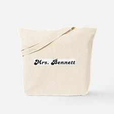 Mrs. Bennett Tote Bag