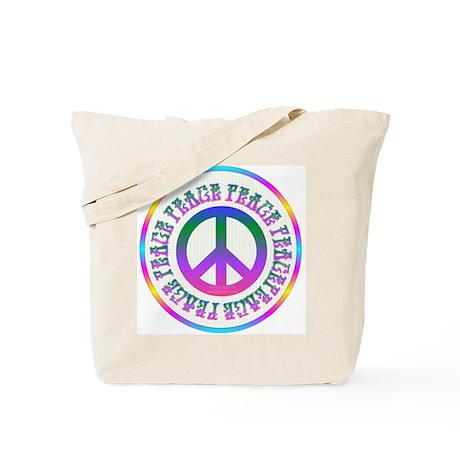 Peace Around Tote Bag