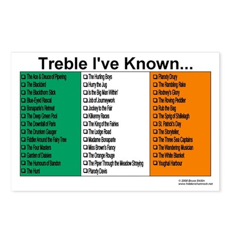 Treble I've Known - Studio Signs (Package of 8)