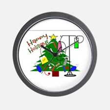 Christmas Medical Wall Clock