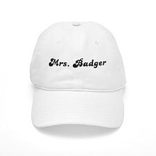 Mrs. Badger Baseball Cap