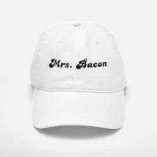 Mrs. Bacon Baseball Baseball Cap