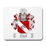 Vidale Family Crest Mousepad