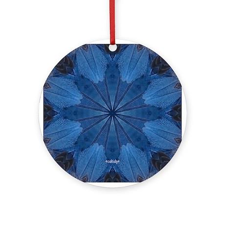 Florida Scrub-Jay V Ornament (Round)