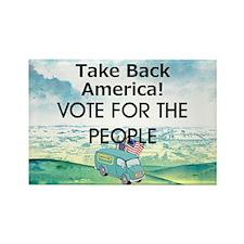 Take Back America Rectangle Magnet