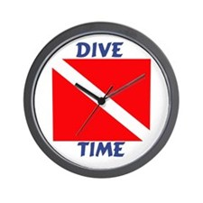 Dive Time Wall Clock