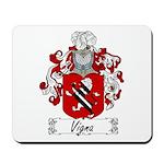 Vigna Family Crest Mousepad