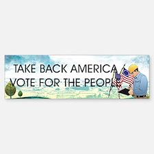 Take Back America Sticker (Bumper)
