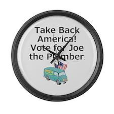 Take Back America Large Wall Clock
