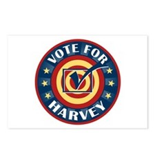 Vote For Harvey Personalized Postcards (Package of