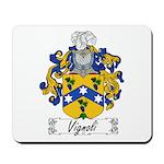 Vignoli Family Crest Mousepad