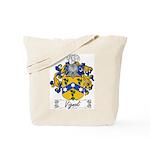 Vignoli Family Crest Tote Bag