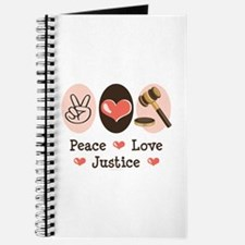 Peace Love Justice Judge Journal