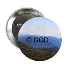 """Copyright God Mountain View 2.25"""" Button (10 pack)"""