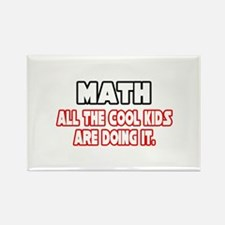 """Math...Cool Kids"" Rectangle Magnet"