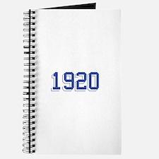 1920 Journal