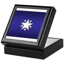 Republic of Texas Flag Keepsake Box