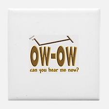 Ow-Ow Tile Coaster