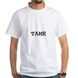 Tame Mens White T-shirts