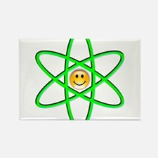 Nuclear Smiley Rectangle Magnet