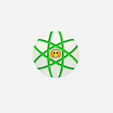 Nuclear Smiley Mini Button