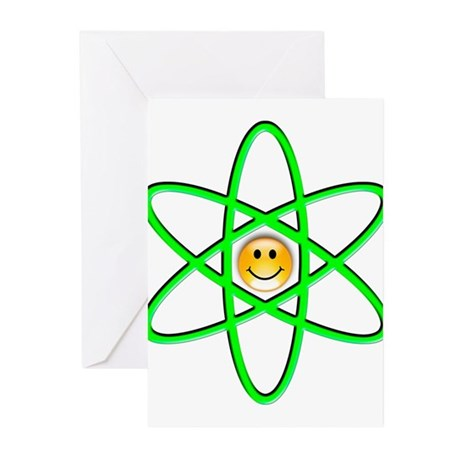 Nuclear Smiley Greeting Cards (Pk of 10)