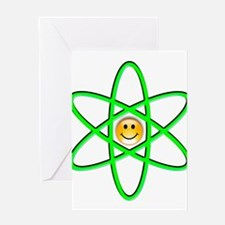 Nuclear Smiley Greeting Card