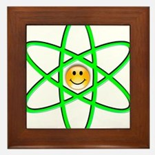Nuclear Smiley Framed Tile