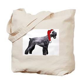 giant schnauzer Christmas Tote Bag