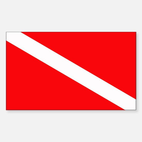 Dive Rectangle Decal