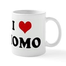 I Love MOMO Small Mug