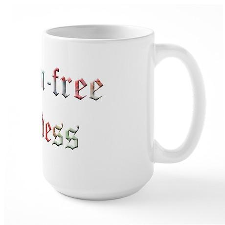 Gluten-Free Goddess Large Mug