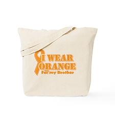 I wear orange brother Tote Bag