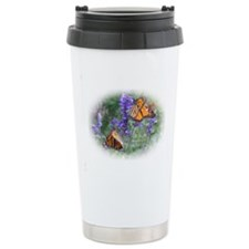 Butterfly Floral Travel Mug